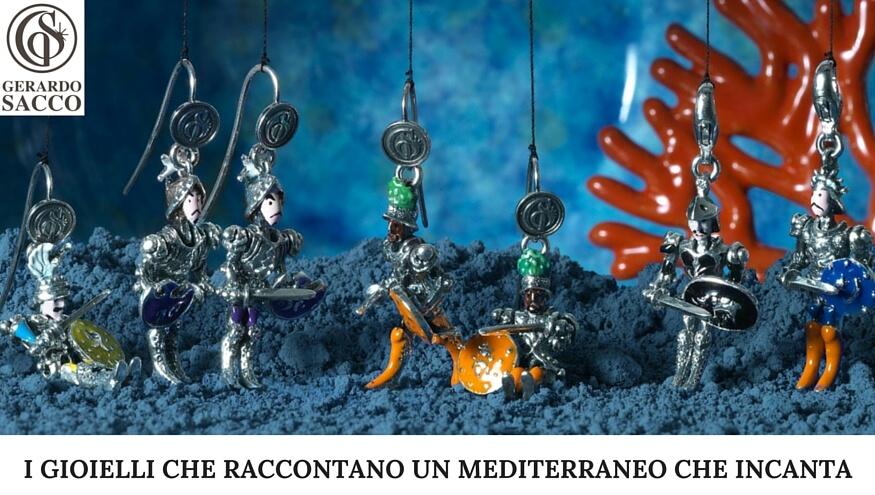Gerardo Sacco: la Magia, il Mito e il Fascino dei colori del Mediterraneo