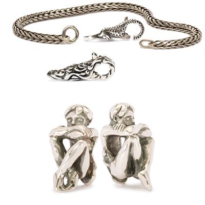 Bracciale, chiusura e beads - Trollbeads