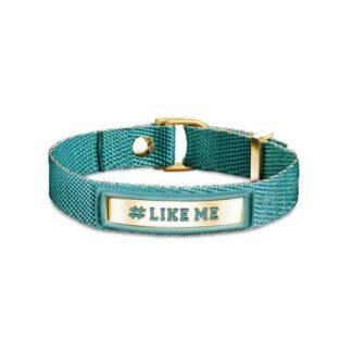 Bracciale #LIKE ME Nomination Cotone Poliuretano e Acciaio - #ME - 131001/012