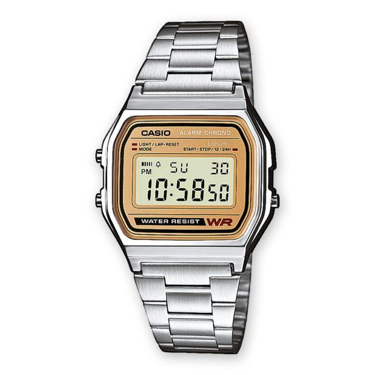 Orologio Cronografo Digitale Casio Acciaio - A158WEA