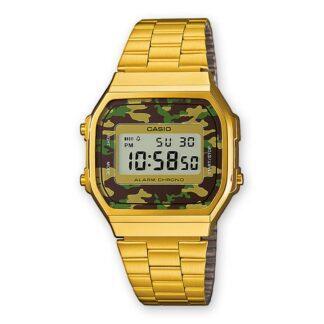 Orologio Digitale Casio Camouflage Acciaio - A168WEGC