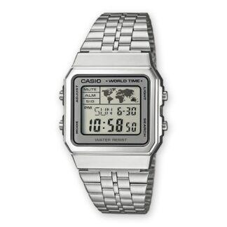 Orologio Digitale Casio Unisex Acciaio A158WEA-9EF