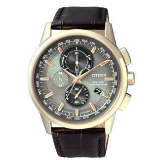 Orologio Cronografo Eco Drive Citizen Uomo Acciaio - AT8113-12H