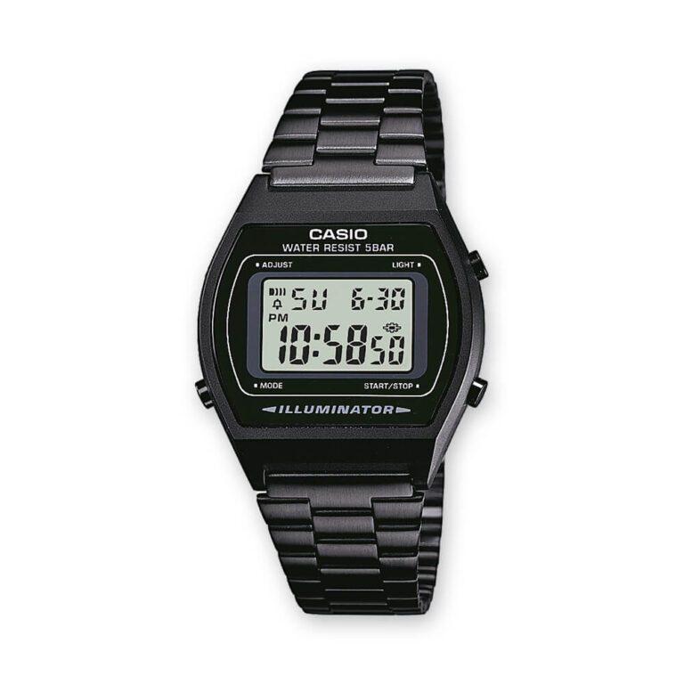 Orologio Cronografo Unisex Casio Acciaio B640WB-1AEF