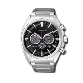 Orologio Cronografo Citizen Eco Drive Uomo Acciaio Chrono CA4280-53E