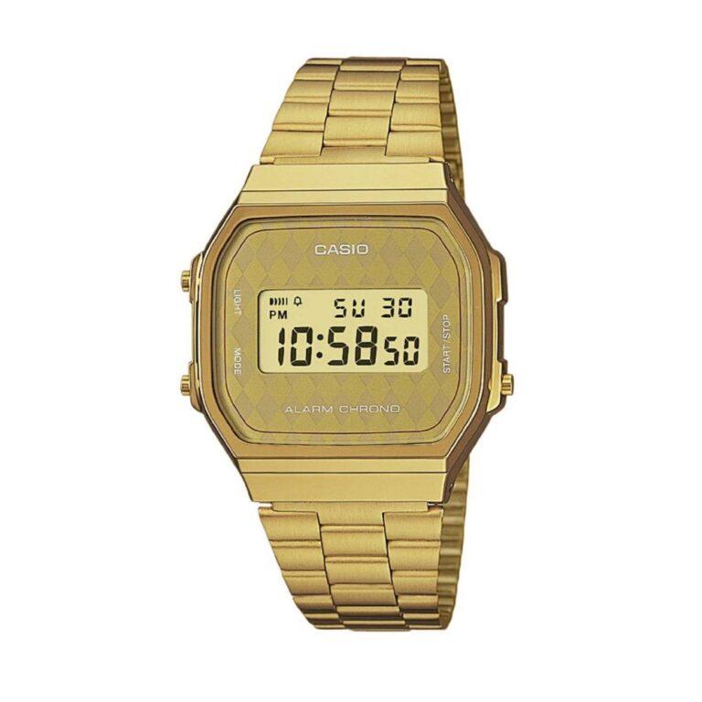 Orologio Casio Unisex Acciaio Dorato - A168WG-9BWEF