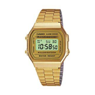 Orologio Casio Acciaio Dorato Digitale - A168WG-9EF