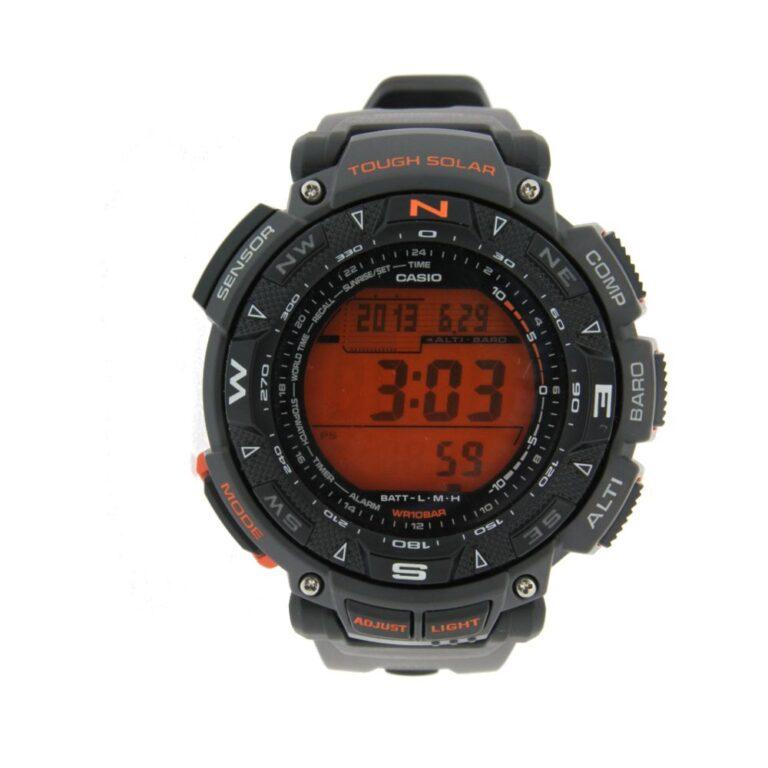 Orologio Casio Resina Multifunzione Cronografo Pro Trek RG-240-8ER