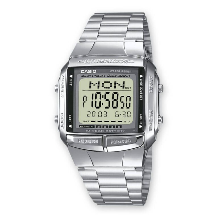 Orologio Digitale Casio Uomo Acciaio – DB-360N-1AEF