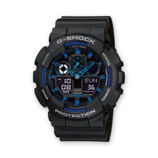 Orologio Cronografo Casio G-Shock da Uomo Resina GA-100-1A2ER