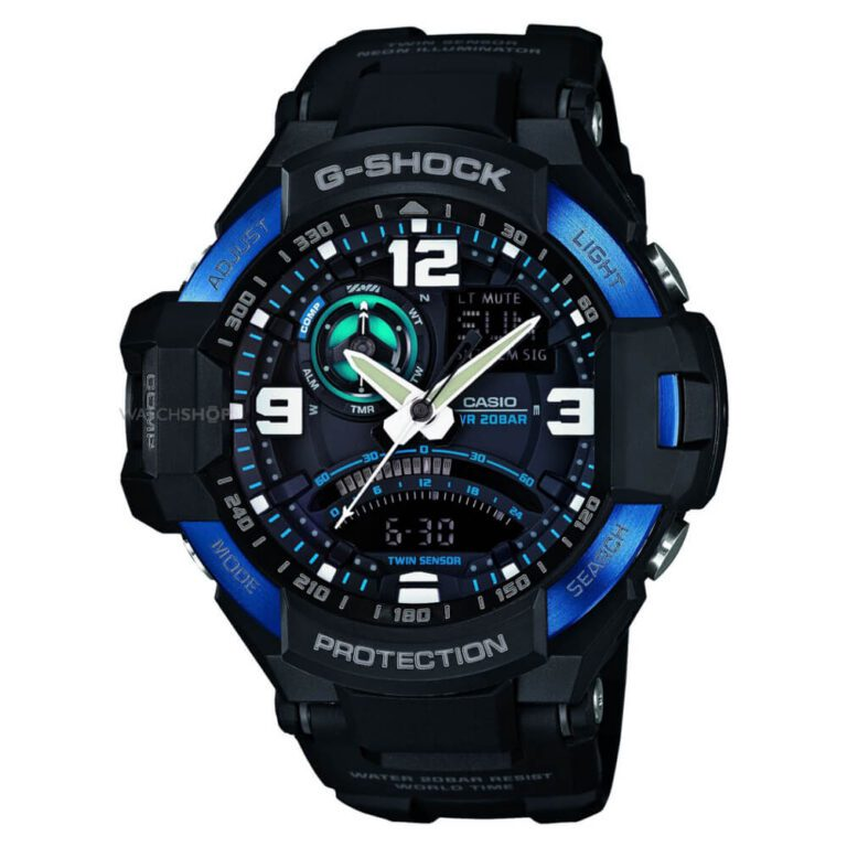 Orologio Cronografo Casio G-Shock Uomo Resina - Gravitymaster - GA-1000-2BER
