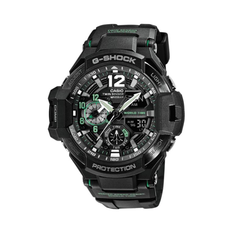 Orologio Cronografo Casio G-Shock da Uomo in Resina - Gravitymaster - GA-1100-1A3ER
