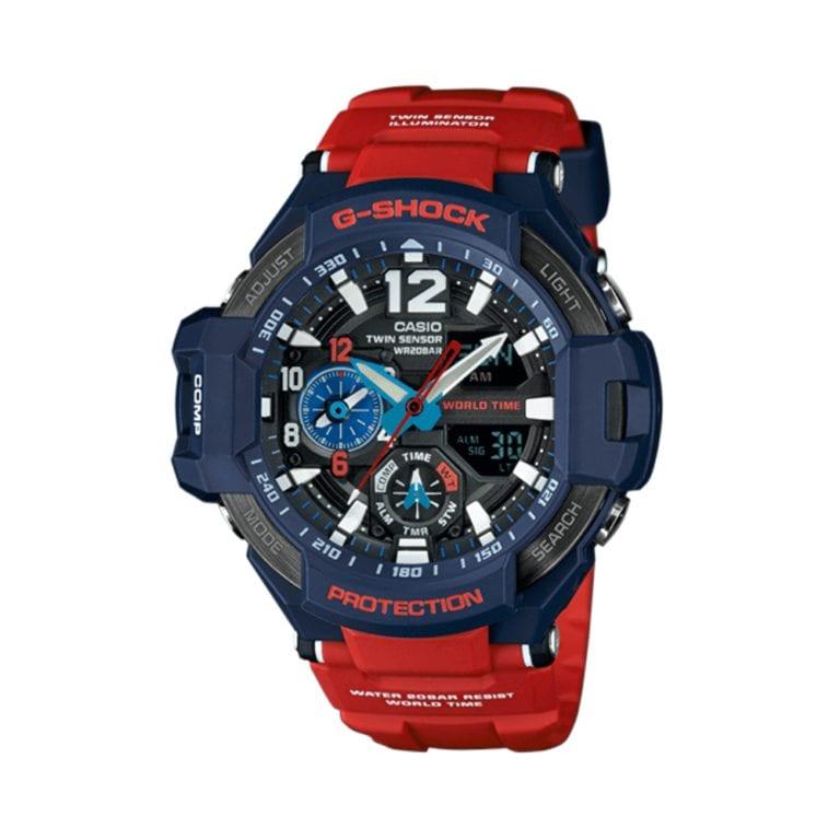 Orologio Cronografo Casio G-Shock da Uomo in Resina - Gravitymaster - GA-1100-2AER