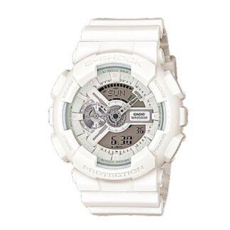 Orologio Casio Resina Bianco Cronografo - G-Shock - GA-110BC-7AER