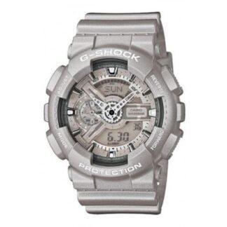 Orologio Casio Resina Argento Cronografo - G-Shock - GA-110BC-8AER