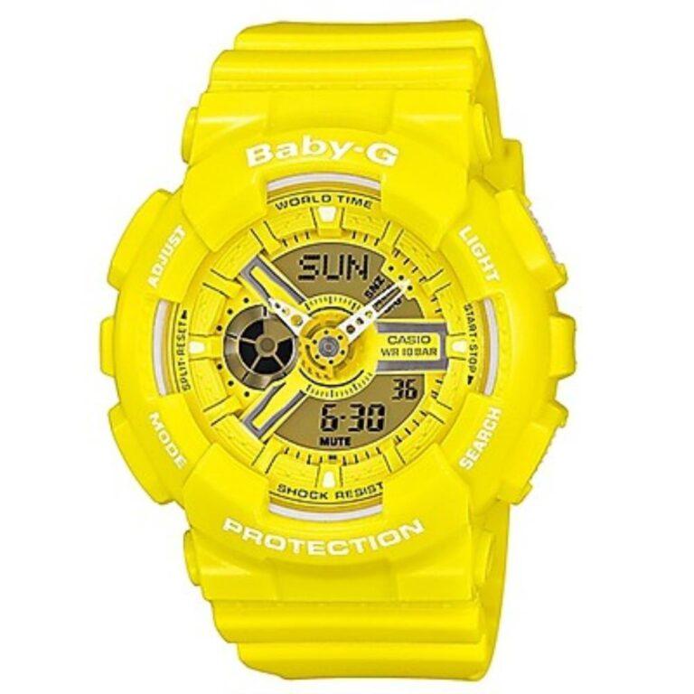 Orologio Casio Resina Giallo Cronografo - G-Shock - GA-110BC-9AER