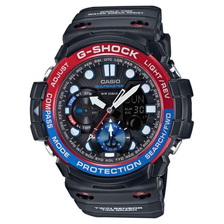 Orologio Cronografo Casio G-Shock da Uomo in Resina - Gulfmaster - GN-1000-1AER