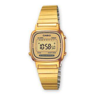 Orologio Digitale Casio Donna Acciaio - LA670WEGA