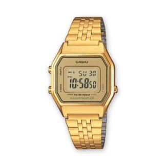 Orologio Digitale Casio Donna in Acciaio Dorato - LA680WEGA-9ER