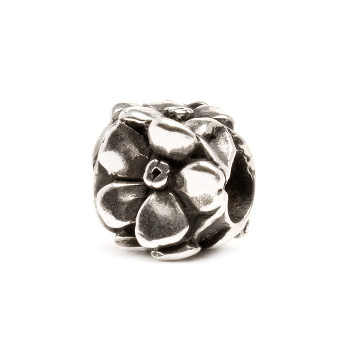 Beads Trollbeads Rosa in Argento - 11203