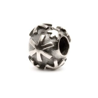 Beads Trollbeads Fiocco di Neve in Argento - 11248