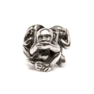 Beads Trollbeads Tre Scimmie in Argento - 11249