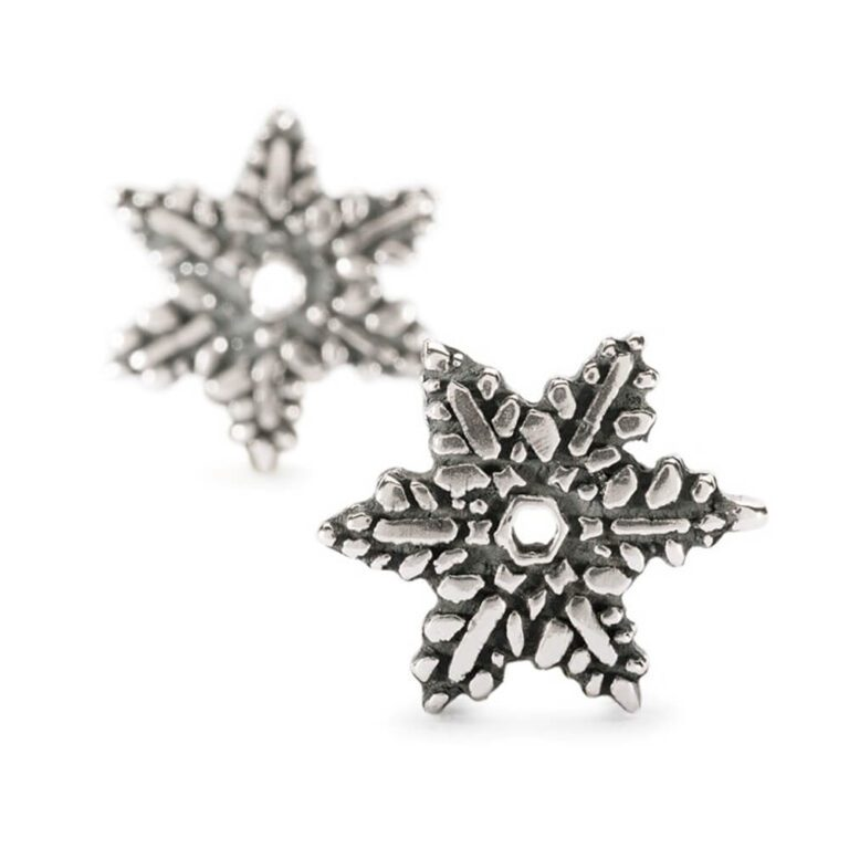 Orecchini Trollbeads Fiore di Neve - 16211