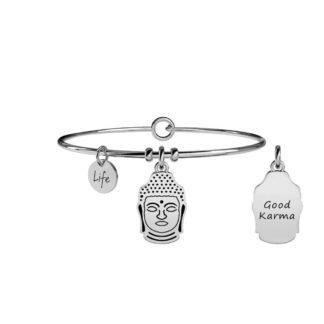 Bracciale Donna Kidult in Acciaio Buddha  Saggezza - Spirituality - 231549