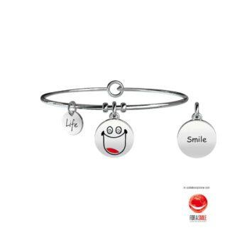 Bracciale Donna Kidult in Acciaio Smile - Symbols - 231675