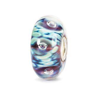 Beads Trollbeads Bolle di Mezzanotte in Argento e Vetro di Murano - 61483