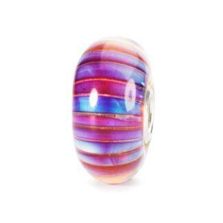 Beads Trollbeads Strisce Aurora in Argento e Vetro di Murano - 61484