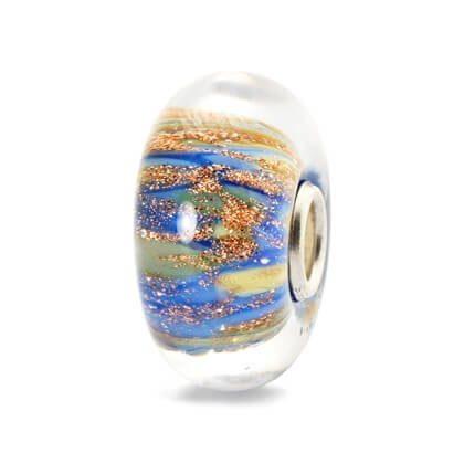 Beads Trollbeads Fonte della Giovinezza in Argento e Vetro di Murano - 61491