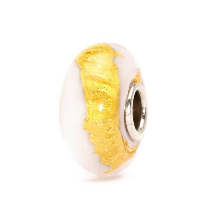 Beads Trollbeads Chakra Corona in Argento e Vetro di Murano - 62007