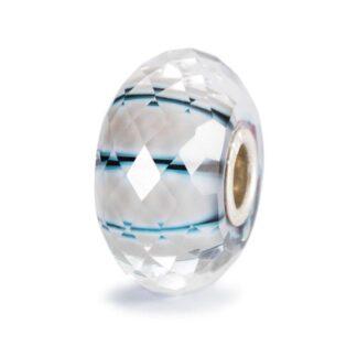Bead Trollbeads Raggio di Luna in Argento e Vetro di Murano - 62305