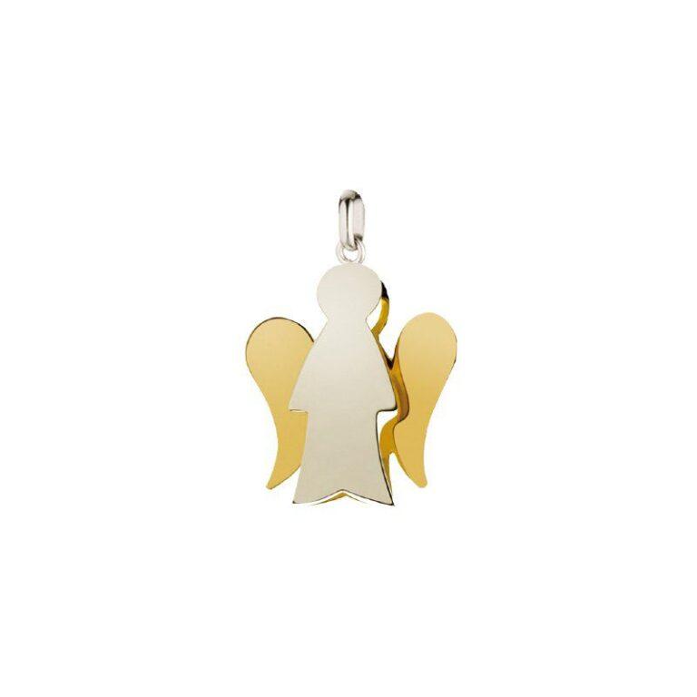 Ciondolo Roberto Giannotti in Oro Bicolore - Angeli – PZ602