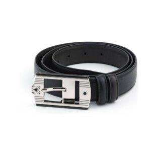 Cintura Zancan in Pelle e Acciaio - HPL008_0