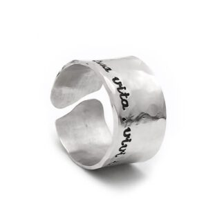 Anello Ego You Argento personalizzabile Incisione - ANAG317