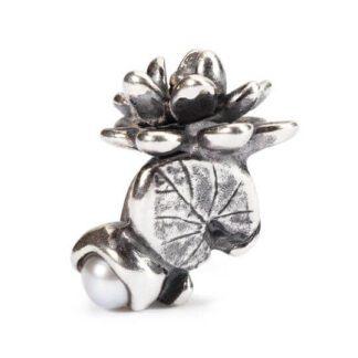 Bead Trollbeads Argento Ninfea di Luglio - TAGBE-00033