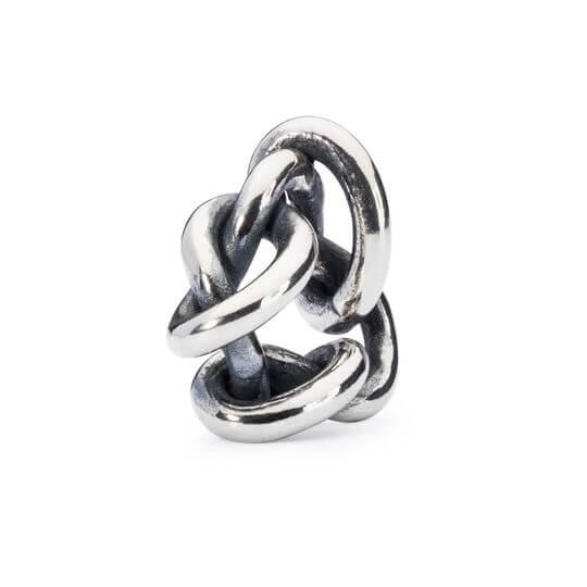 Bead Trollbeads Argento Oltre l'Amore - TAGBE-10100