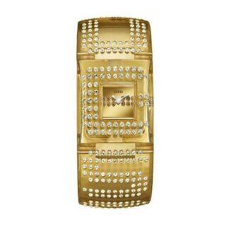 Orologio Donna Guess PVD Oro Cristalli - W17518L2