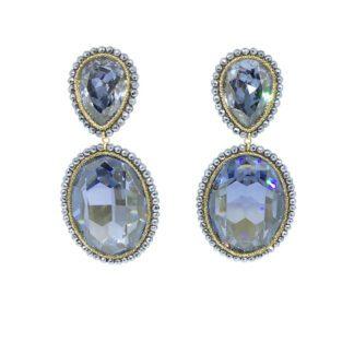 Orecchini Argento Swarovski Perle e Ematite - Sikè - SW010-1BR