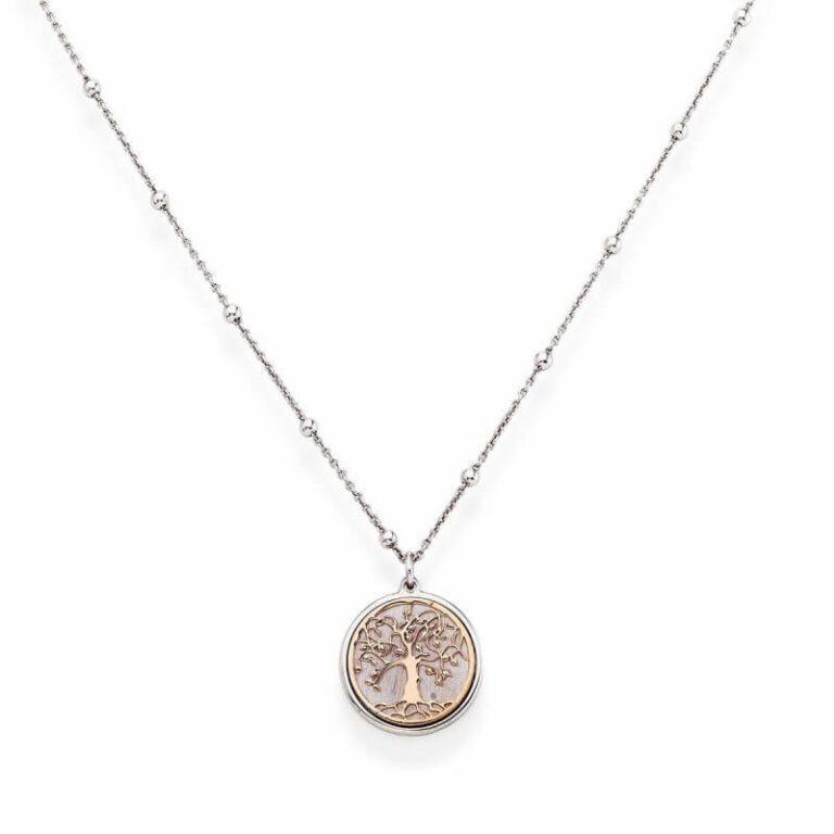 Collana Donna Amen - Albero della Vita Argento CLAL3