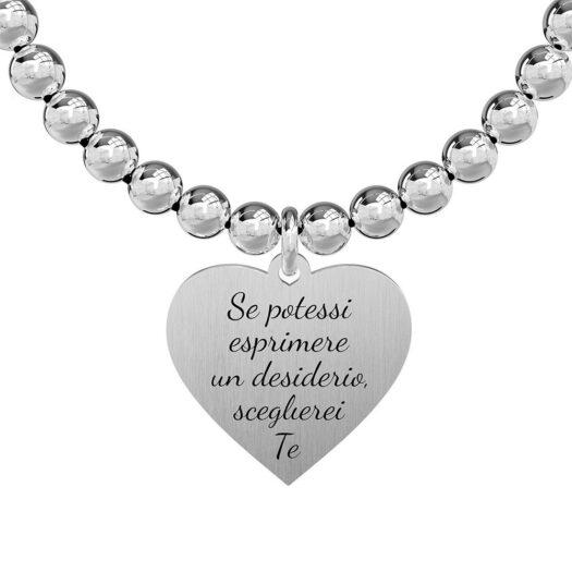 Bracciale Donna Kidult in Acciaio Cuore  Desiderio - Love - 731281