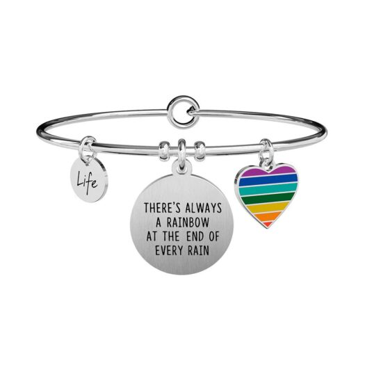Bracciale Donna Kidult in Acciaio  There's Always a Rainbow... - Philosophy - 731313