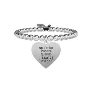 Bracciale Donna Kidult in Acciaio Cuore  L'amore Insegna - Love - 731326