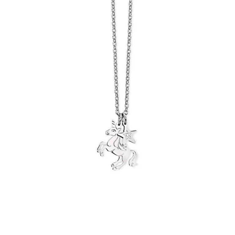 Collana 2Jewels Acciaio con Unicorno Stella -251614
