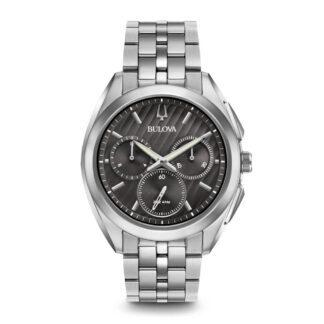 Orologio Bulova Cronografo Uomo Acciaio - 96A186