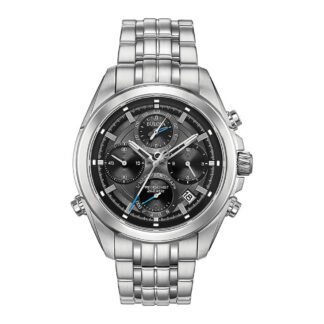 Orologio Bulova Cronografo Uomo in Acciaio - 96B260