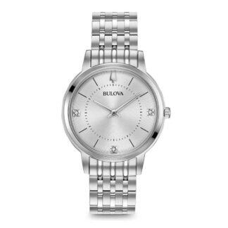 Orologio Bulova Donna Acciaio Diamanti - 96P183