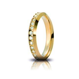 Fede Anniversario Classica Unoaerre Oro Diamanti